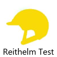 3 Reithelme müssen im Praxis - Test bestehen