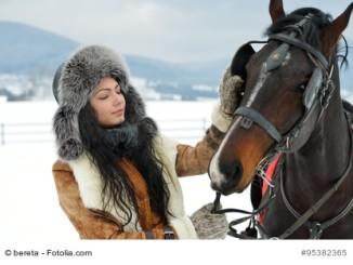 Reiten im Winter - Tipps und Ratschläge damit Mensch und Pferd gesund bleiben.